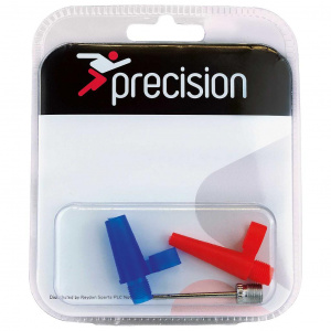 Precision ball pump set 2 mm steel silver/red/blue 3-piece
