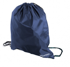 Precision gym bag 16 litres polyester navy blue