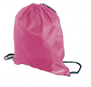 Precision gym bag 16 liters polyester pink