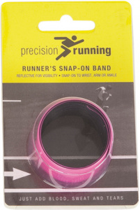 Precision reflexionsarmband Snap-on Damen rosa