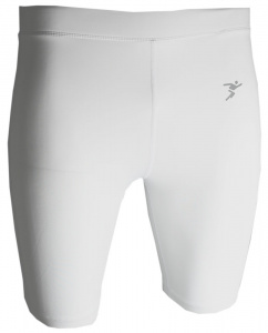 Precision Training short thermal pants men's polyester white