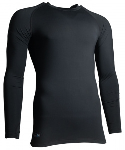 Precision Training thermoshirt base layer polyester black