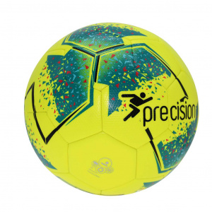 Precision training ball Fusion 290-340 gr PU yellow/green size 3