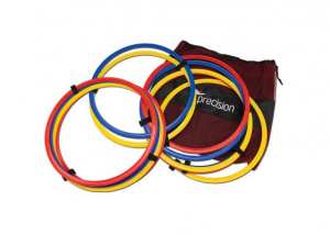 Precision training rings 40 cm red/yellow/blue 13-piece