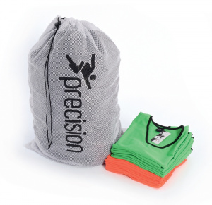 Precision laundry and carrier bag 60 x 90 cm polyester white