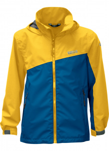 Pro-X Elements outdoor jacket Tanis junior polyester yellow/blue