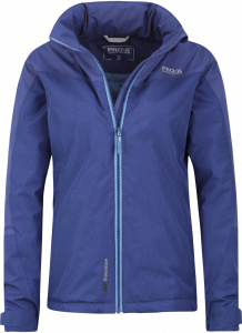 Pro-X Elements outdoor jacket Liane ladies polyester blue