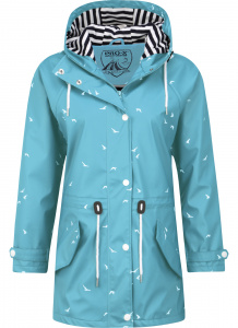 Pro-X Elements regenjas Marly dames polyester blauw