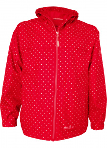 Pro-X Elements raincoat Pia junior polyester red