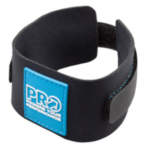 Pro chip-band Triathlon Aerofuel neopreen zwart one-size