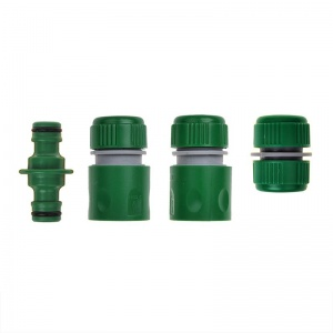 ProPlus Clutch kit for garden hose 4-piece green