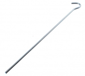 ProPlus peg with eye 25 cm steel silver each