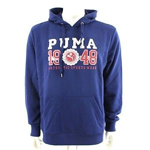 Puma 240 Hooded Sweater Herentrui Blauw