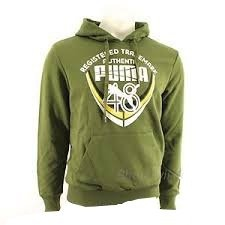 Puma 241 Hooded Sweater Herentrui Groen