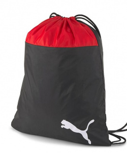 Puma gym bag Team Goal 23polyester 16 litres black/red