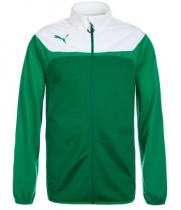 Puma jacket Esito 3 unisex green / white