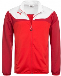 Puma jacket Esito 3junior red/white