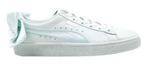 Puma sneakers Basket Bow dames aquamint