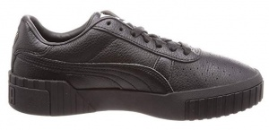 Puma sneakers Cali Fashion Wns leer dames zwart