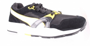 Puma Sneakers Trinomic XT 1 heren zwart/wit/geel