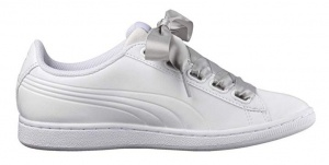 Puma sneakers Vikky Ribbon dames wit