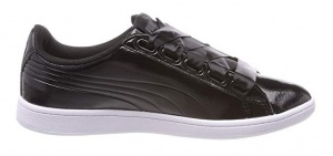 Puma sneakers Vikky Ribbon dames zwart
