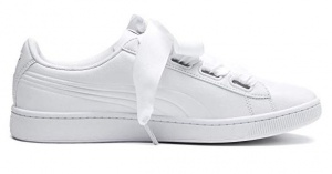 Puma sneakers Vikky Ribbon V2 Core dames wit