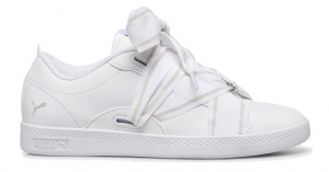 Puma sneakers Wns Smash Buckle Core meisjes wit