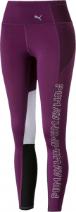 Puma sportlegging Feel It 7/8 dames paars/wit