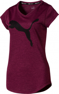 Puma sportshirt Heather Cat dames polyester bordeaux
