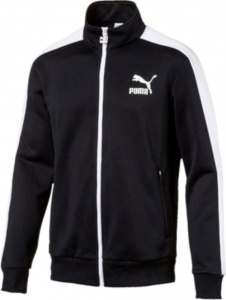Puma trainingsjack Archive T7 heren polyester zwart/wit