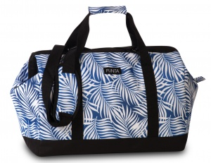 Punta shoulder bag weekend 27 litres 49 cm polyester blue/white