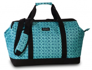 Punta shoulder bag weekend 27 litres 49 cm polyester turquoise
