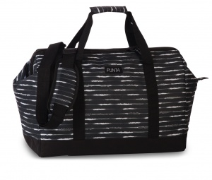 Punta shoulder bag weekend 27 litres 49 cm polyester black/white