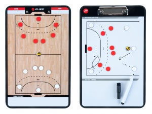 Pure2Improve coachboard handbal 35 x 22 cm