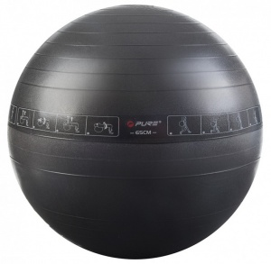 Pure2Improve exercise Ball 65 cm grijs