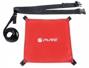 Pure2Improve Swim weerstandsparachute zwemmen rood one size