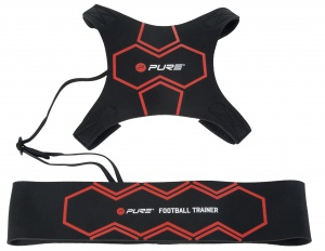 Pure2Improve Football trainer black / red