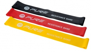 Pure2Improve Resistance bands yellow / red / black 3 pieces