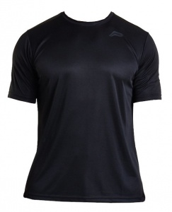 Pursue Fitness sportshirt Mesh Back heren zwart