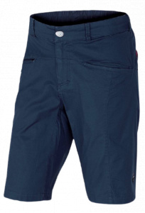 Rafiki outdoor short Crux mens cotton darkblue