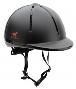 Red Horse ruitercap Rider junior zwart