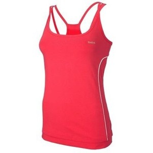 Reebok Muscleback Top Dames Roze