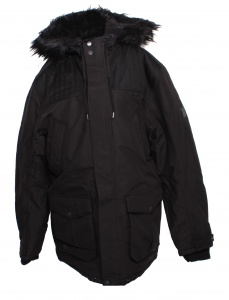 Regatta Aldrich winter coat black men's