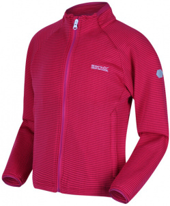 Regatta soft-Shell-Jacke Highton junior polyester rosa