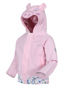 Regatta outdoor-Jacke Peppa Pig junior hellrosa polyester