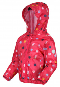 Regatta raincoat Peppa Pig junior polyester red