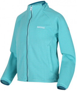 Regatta soft-Shell-Jacke Highton junior polyester hellblau
