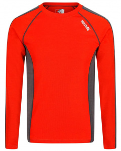 Regatta thermoshirt Beru merino/polyester red