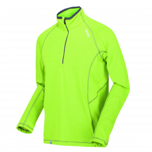 Regatta thermoshirt Yonder men's polyester lime